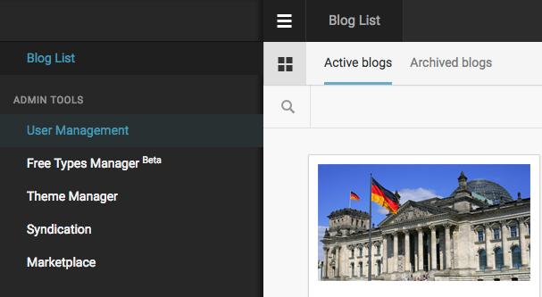 Live Blog List