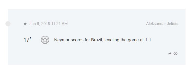 Live Blogging the FIFA World Cup