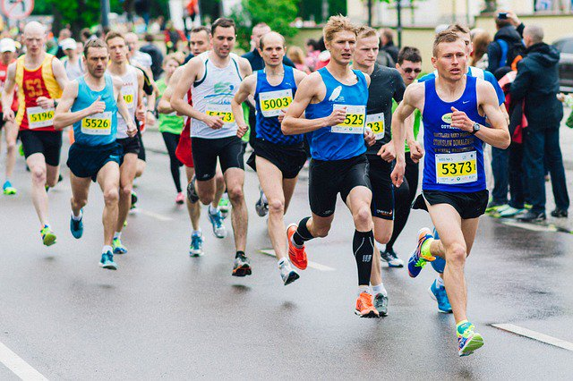 Live blogging your running event