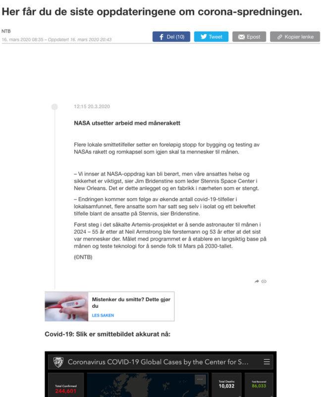 abcnyheterno coronavirus live blog